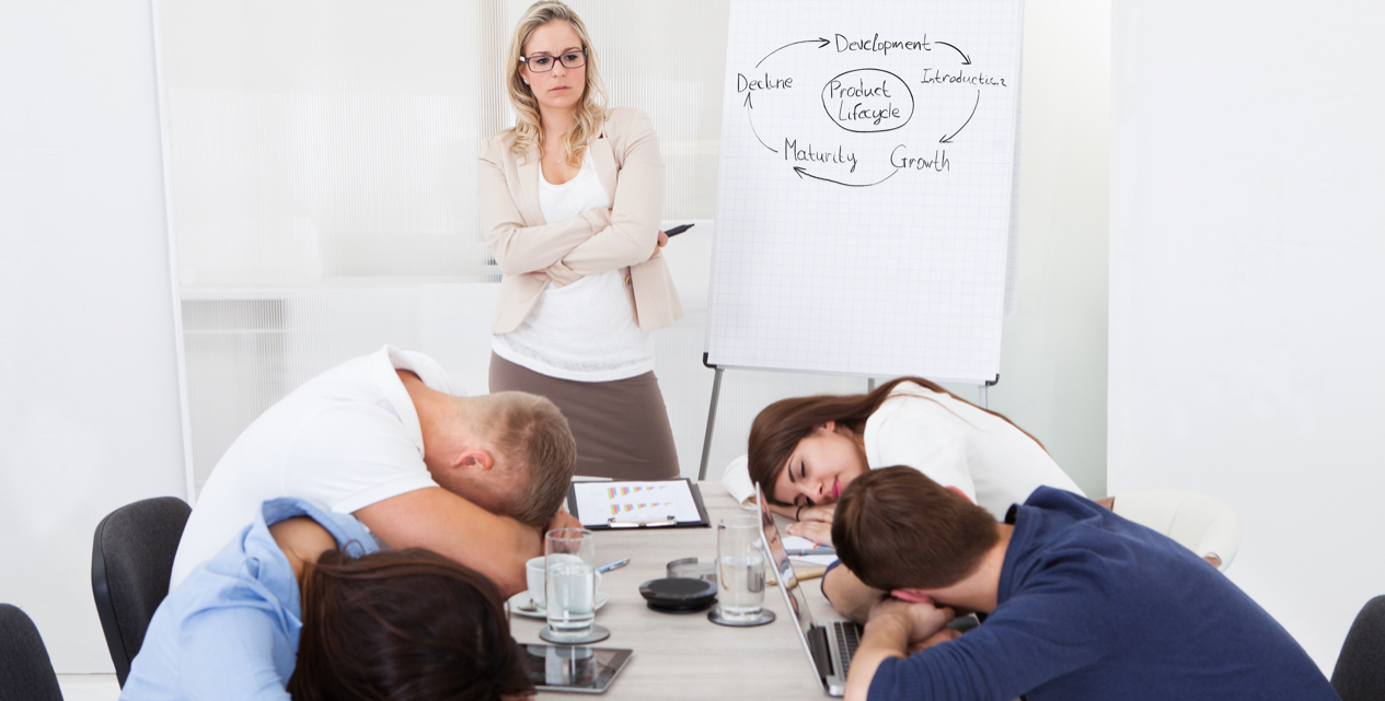 Why People Fall Asleep During Your Presentation